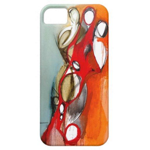 "caso del iPhone 5 ""3 figuras excéntricas "" iPhone 5 Cobertura"