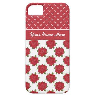caso del iPhone 5/5s a personalizar: Corazones y iPhone 5 Cobertura