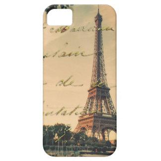 caso del iphone 5/5s con el vintage de París iPhone 5 Case-Mate Protector