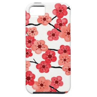 caso del iPhone 5/5s con las flores de cerezo Funda Para iPhone 5 Tough
