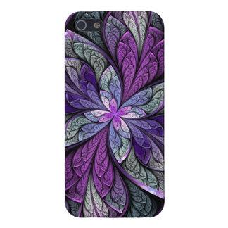 Caso del iPhone 5/5S de Chanteuse Violett del La iPhone 5 Carcasas