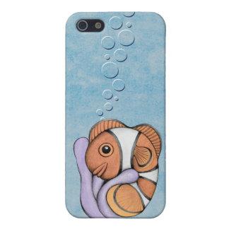 Caso del iPhone 5/5S de Clownfish del bebé iPhone 5 Carcasas