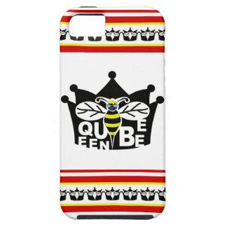 caso del iphone 5/5s de la abeja reina funda para iPhone 5 tough