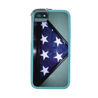 Caso del iPhone 5/5s de la bandera americana