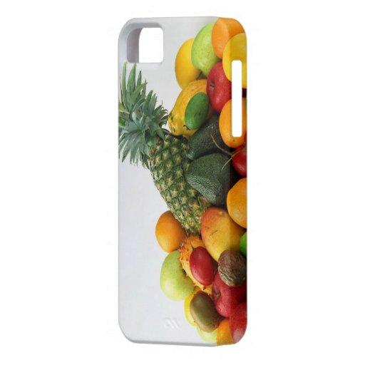 Caso del iPhone 5/5s de la cesta de fruta iPhone 5 Protector