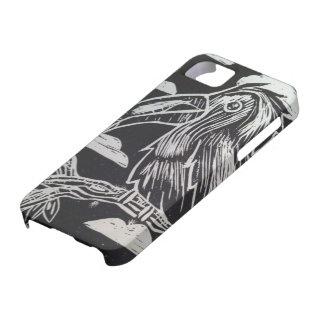 Caso del iPhone 5/5S de la impresión de Toucan iPhone 5 Carcasas
