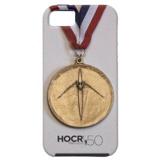 Caso del iPhone 5/5s de la medalla de HOCR iPhone 5 Case-Mate Coberturas