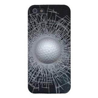 caso del iPhone 5/5S de la pelota de golf del iPhone 5 Carcasa