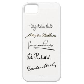 Caso del iPhone 5/5s de las firmas del compositor Funda Para iPhone 5 Barely There