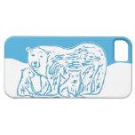 Caso del iPhone 5/5s de los osos polares iPhone 5 Cárcasa