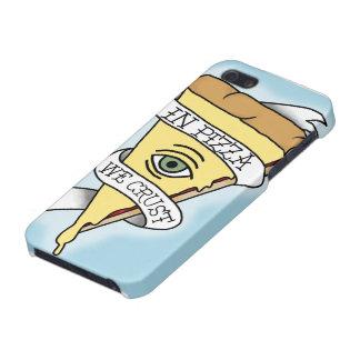 Caso del iPhone 5/5s de Parti de la pizza de iPhone 5 Fundas