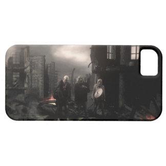 Caso del iPhone 5/5S de Rockalypse del zombi iPhone 5 Funda