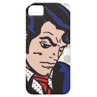 Caso del iPhone 5/5S del arte pop del hombre del iPhone 5 Protector