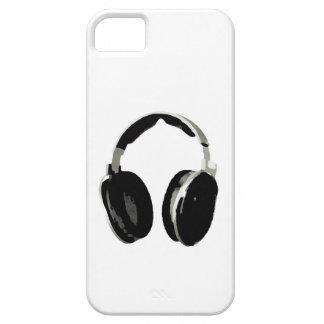 Caso del iPhone 5/5S del auricular del arte pop iPhone 5 Carcasas
