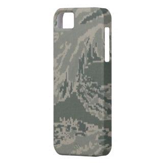 Caso del iPhone 5/5S del camuflaje de la fuerza iPhone 5 Carcasa