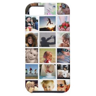 Caso del iPhone 5/5s del collage de la foto iPhone 5 Carcasa