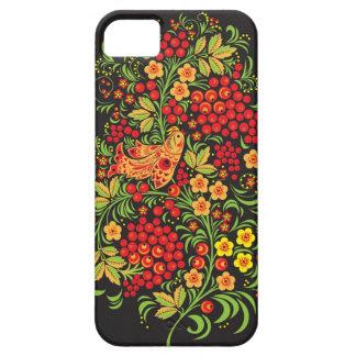 caso del iphone 5/5S del khokhloma iPhone 5 Cárcasas