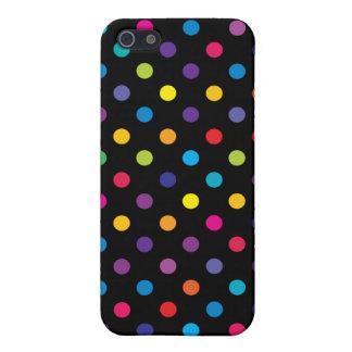 Caso del iPhone 5/5S del lunar del caramelo iPhone 5 Funda