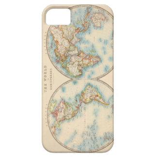 Caso del iPhone 5/5s del mapa del mundo [del Funda Para iPhone SE/5/5s