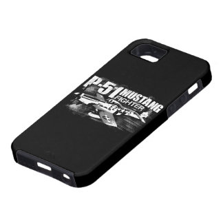 Caso del iPhone 5/5S del mustango P-51 Funda Para iPhone 5 Tough