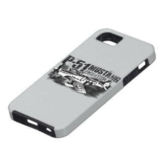 Caso del iPhone 5/5S del mustango P-51 iPhone 5 Funda