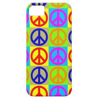 Caso del iPhone 5/5S del signo de la paz del arte Funda Para iPhone SE/5/5s