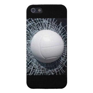 caso del iPhone 5/5S del voleibol del fragmento 3D iPhone 5 Carcasas