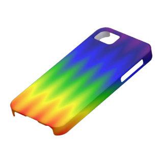caso del iPhone 5/5S - onda del arco iris iPhone 5 Carcasa