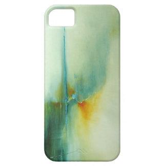 """caso del iPhone 5, aceite abstracto """"calma """" iPhone 5 Case-Mate Fundas"""