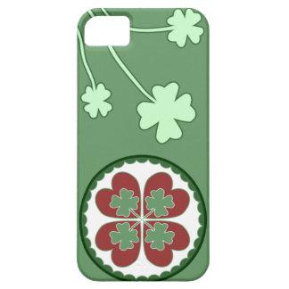 caso del iPhone 5 - afortunado en maleficio del iPhone 5 Carcasa