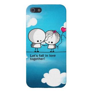 caso del iPhone 5 - amor iPhone 5 Carcasa