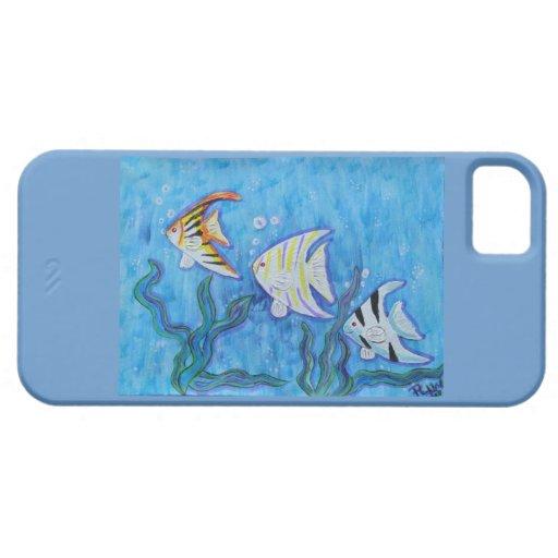 caso del iPhone 5 - Angelfish y diversión iPhone 5 Protector