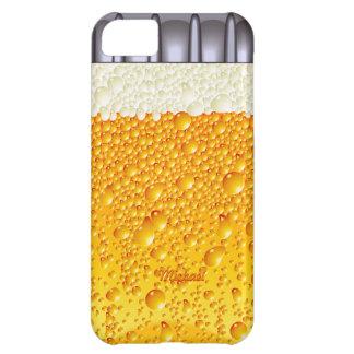 Caso del iPhone 5 c de la botella de cerveza