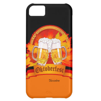 Caso del iPhone 5 C de la cerveza de Oktoberfest Funda Para iPhone 5C