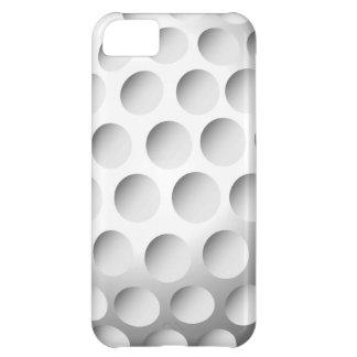 Caso del iPhone 5 c de la pelota de golf
