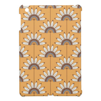 caso del iPhone 5 - caja amarilla floral