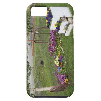 caso del iPhone 5 - cama de flor iPhone 5 Fundas