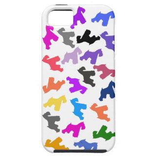 caso del iphone 5 con diseño del Schnauzer iPhone 5 Funda