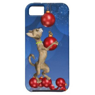 caso del iPhone 5 con el balanceo del gato del día iPhone 5 Case-Mate Cobertura