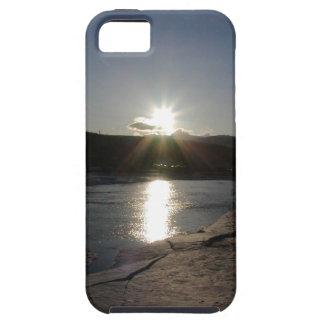 caso del iPhone 5 con la foto del río Yukón Funda Para iPhone SE/5/5s