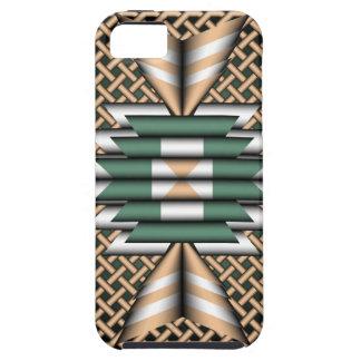 caso del iPhone 5 con sabor del nativo americano y iPhone 5 Case-Mate Funda