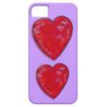 caso del iPhone 5 - corazones maravillosos iPhone 5 Case-Mate Cobertura