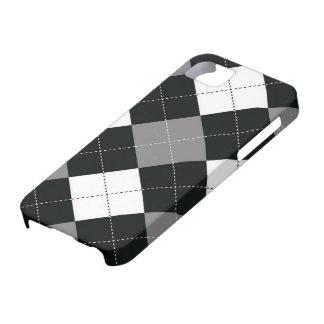 caso del iPhone 5 - cuadrados de Argyle - película iPhone 5 Protector
