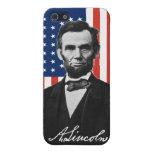 Caso del iPhone 5 de Abraham Lincoln iPhone 5 Carcasas