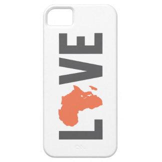 Caso del iPhone 5 de África del amor Funda Para iPhone SE/5/5s