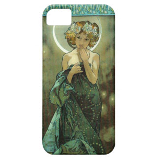 Caso del iPhone 5 de Alfonso Mucha Clair De Lune iPhone 5 Case-Mate Carcasa