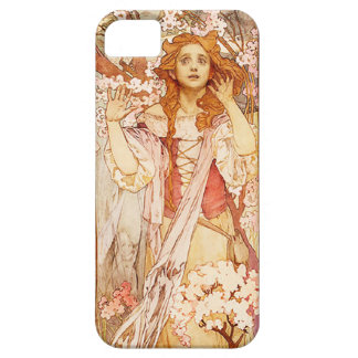 Caso del iPhone 5 de Alfonso Mucha Juana de Arco iPhone 5 Carcasas