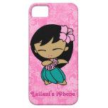 Caso del iPhone 5 de Barely There del chica de Hul iPhone 5 Case-Mate Protectores