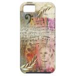 """Caso del iPhone 5 de """"Beethoven"""" de las ilustracio iPhone 5 Case-Mate Protectores"""