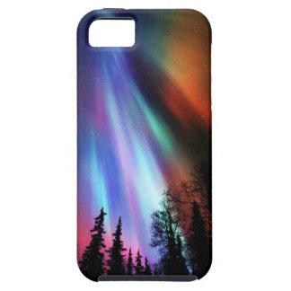 Caso del iPhone 5 de Borealis de la aurora iPhone 5 Fundas
